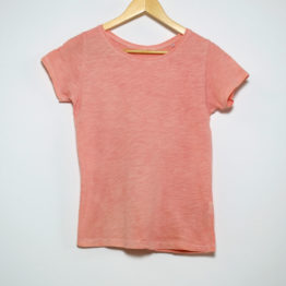 T-Shirt naturally dyed with madder root